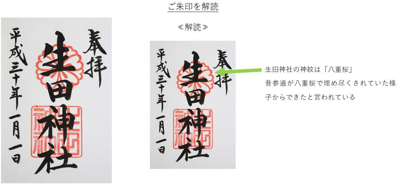 生田神社御朱印