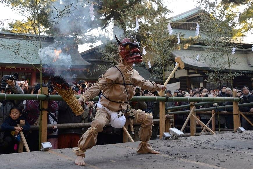 長田神社の追儺式(ついなしき)
