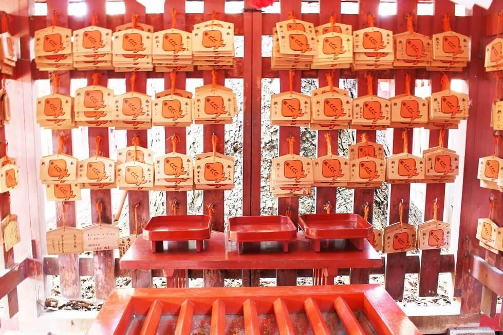 長田神社の赤えい絵馬
