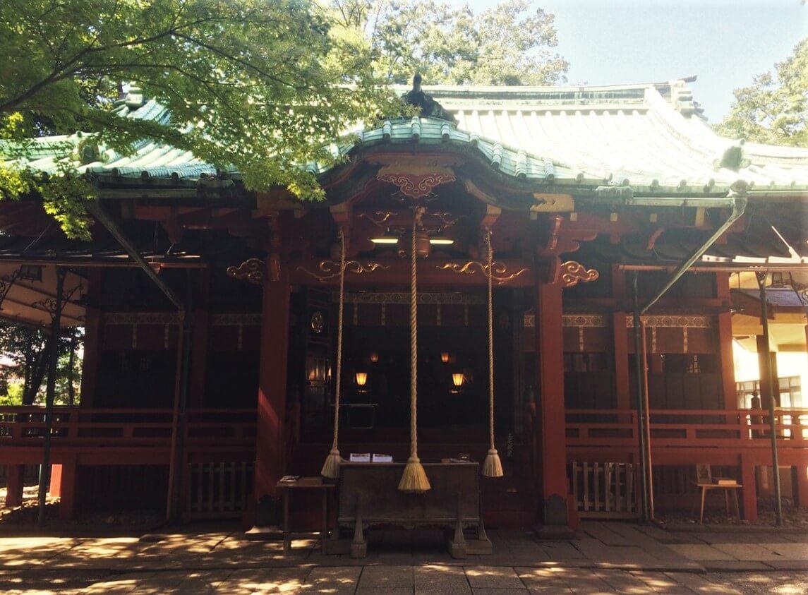 赤坂氷川神社では毎月1回「縁むすび参り」が斎行される