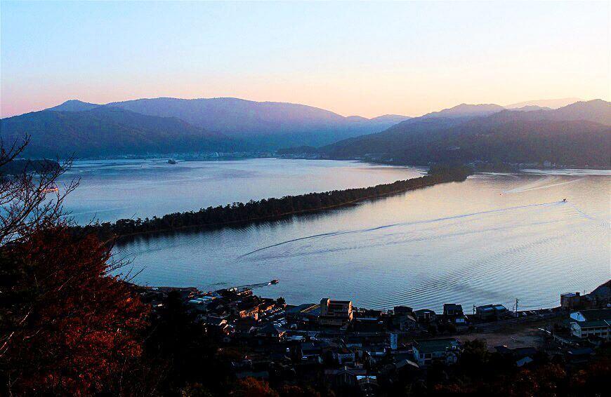 日本三景の「天橋立」