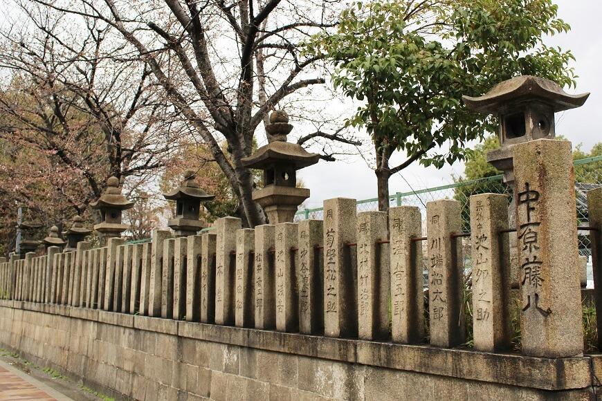 江戸時代の石灯篭