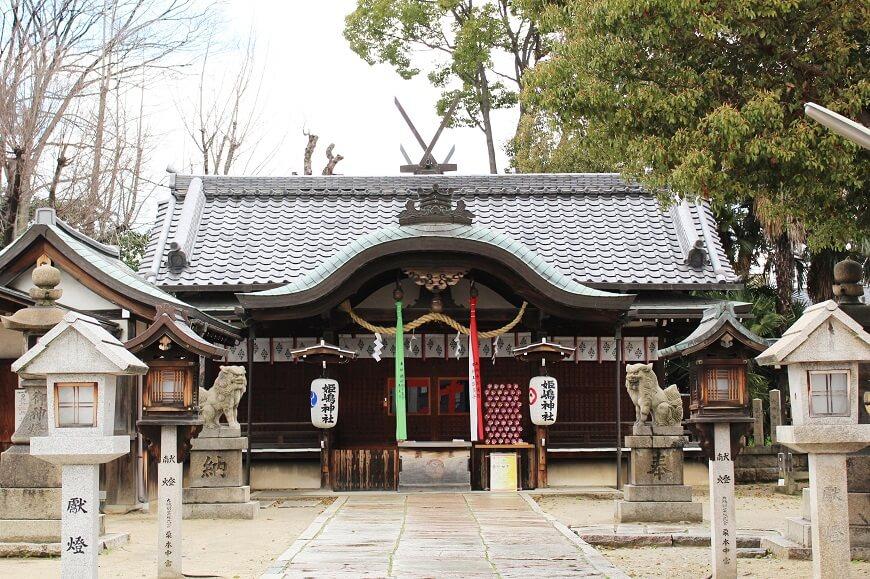姫嶋神社の御社殿
