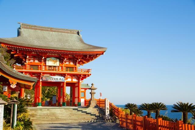 トヨタマ姫がウガヤフキアエズを生んだ場所「鵜戸神宮」