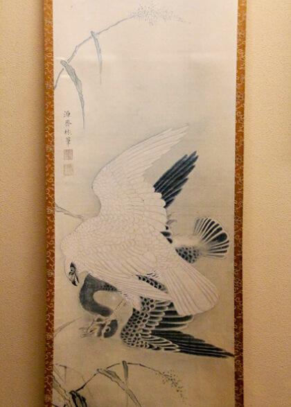 島津斉彬公 筆「鷹」