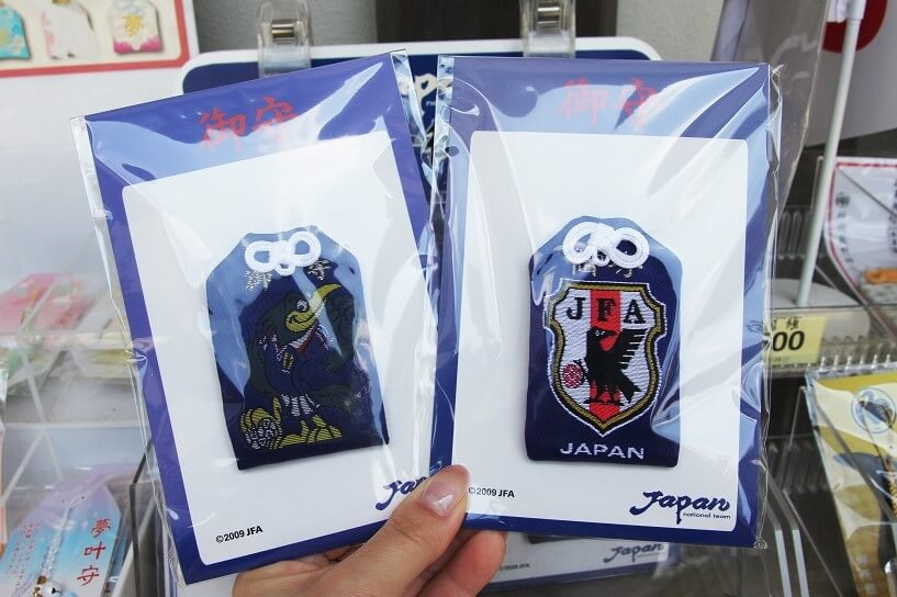 日本サッカー協会公認の「サッカー御守」