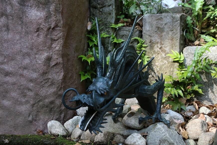 東を守る青龍 田無神社の龍神様