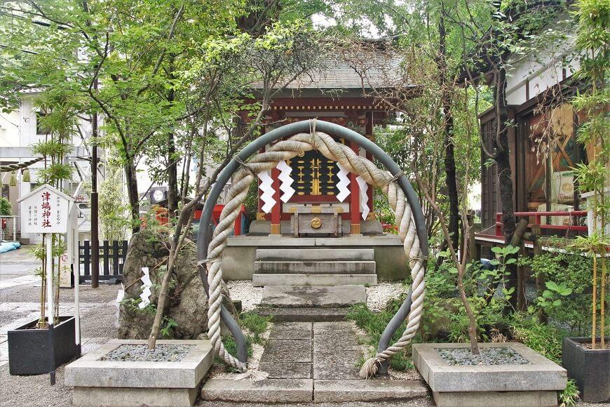 田無神社の境内にある津島神社
