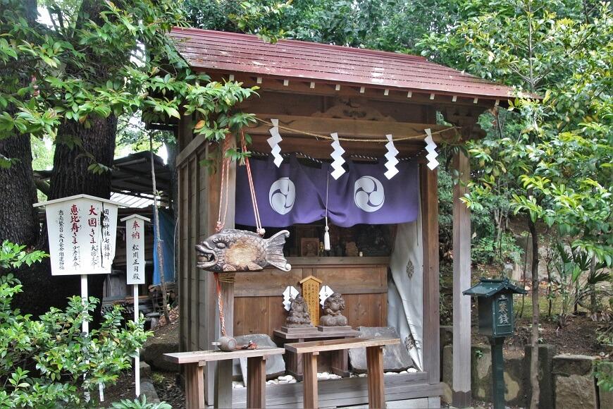 恵比寿・大国様 田無神社の摂社・末社