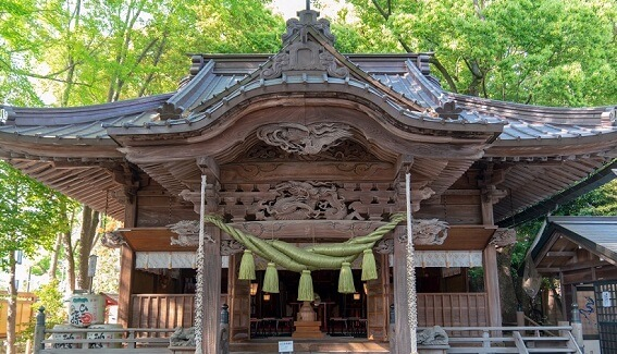 田無神社 願いをくまなく聞き入れる五龍神とは