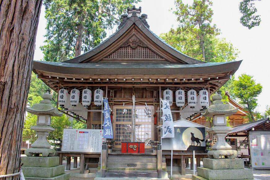 賀茂神社の御社殿