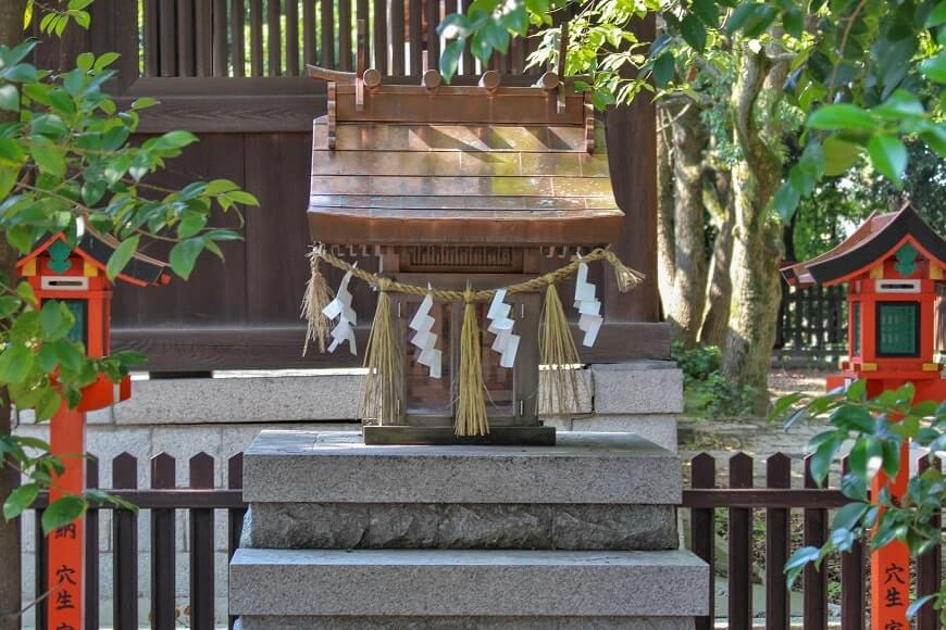 奈良の大神神社から勧請された大物主大神