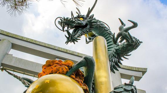 田村神社 龍神伝説が伝わる四国随一の聖地