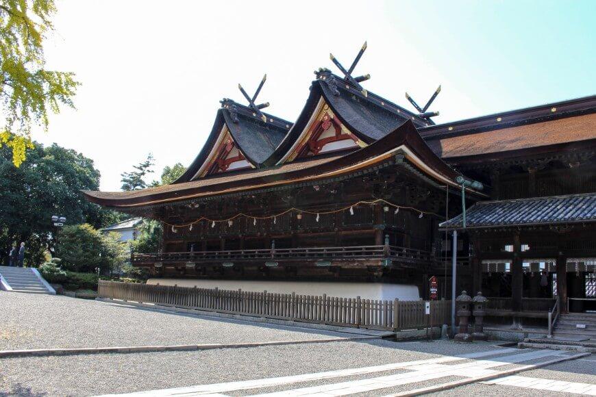 三備国一宮、吉備津神社の御社殿