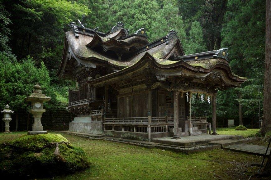 岡太神社・大瀧神社の下宮