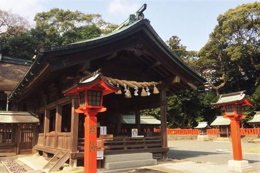 宗像大社の中津宮の社殿