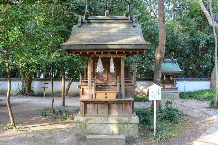 伊弉諾神宮の「左右神社」