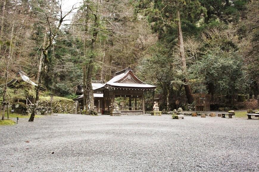 貴船神社の奥宮が創建の地
