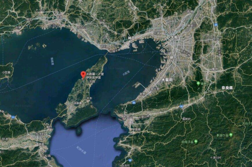 国生みの最初の島が淡路島だったのだろうか