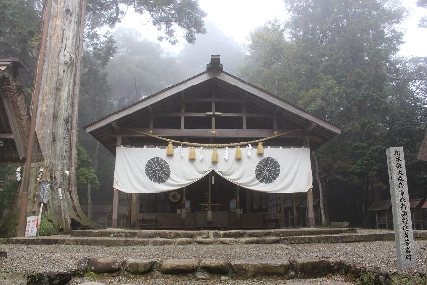 元伊勢内宮皇大神社の拝殿