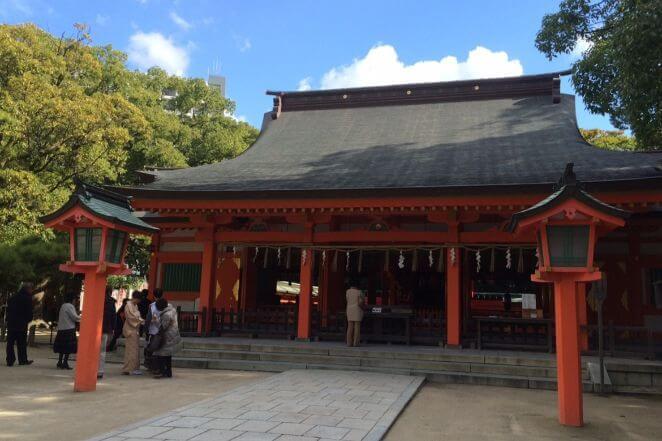 福岡県の住吉神社