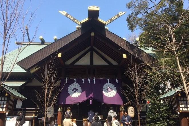 東京都にある東京大神宮のアクセス、住所、電話番号などの説明です。