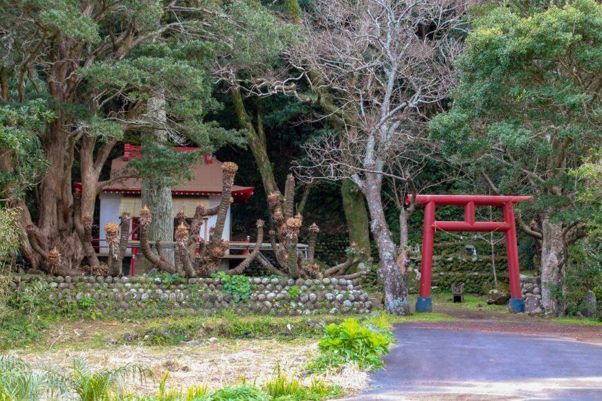 八丈島の神社