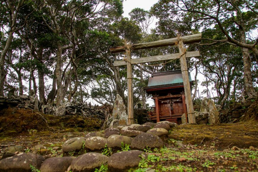 八丈島の三島神社