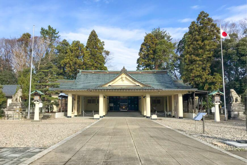 31,993柱の英霊をお祀りする福井県護国神社